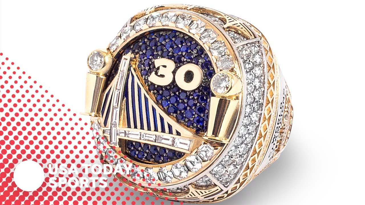 Check Out The Golden State Warriors' New, Reversible Championship Rings