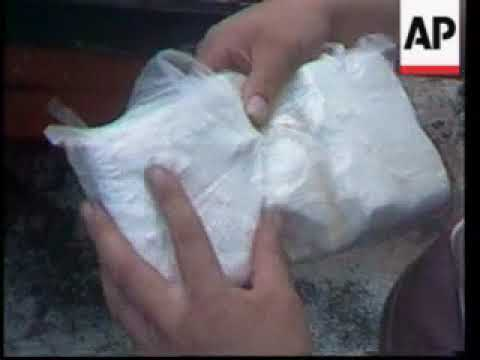 Narcos In Real Life: Footage Of A Massive 1984 Cocaine Seizure In Colombia