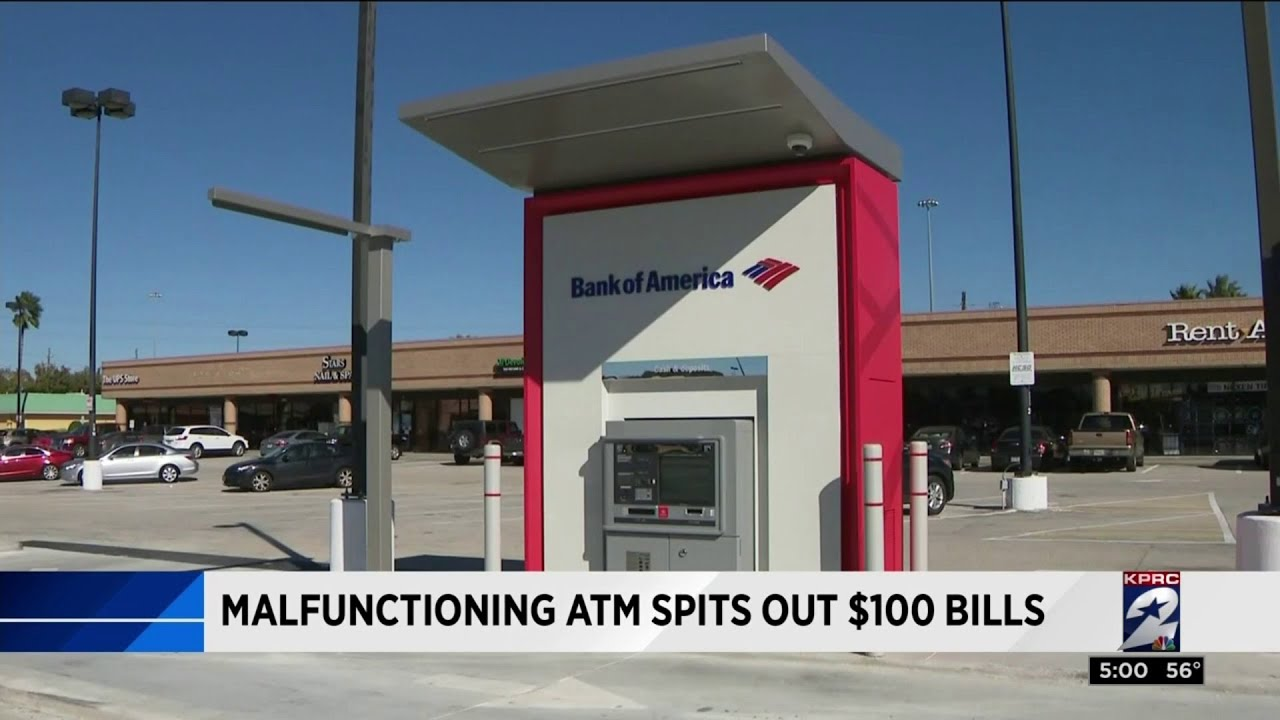 Customers Who Received $100 Bills By Mistake At Malfunctioning Houston ATM Can Keep Money
