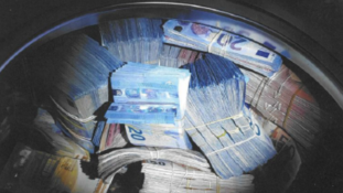 THE IRONY: Man Charged With Money Laundering After $400K Cash Was Found In A Bando Washing Machine