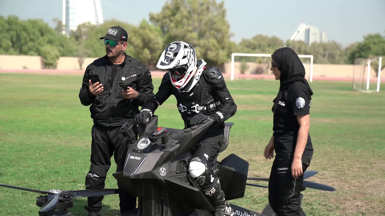Police In Dubai Have Started Training On Their Hoverbikes