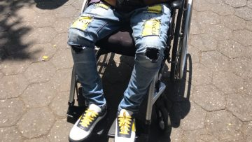 J Lorenzo Sneakers Wheelchair